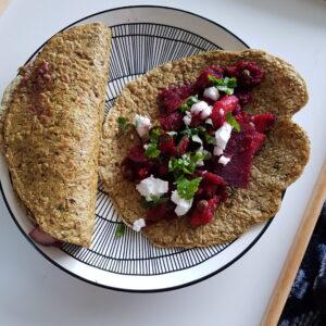 Glutenfreie Wraps (vegan, ohne Soja, histaminarm)