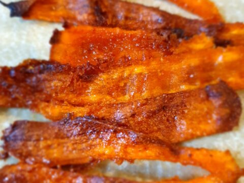 karottenspeck, carrot bacon